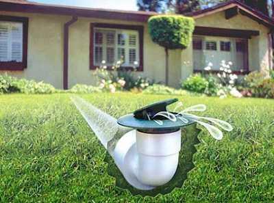 Дренаж ливневый от излишков воды на участке