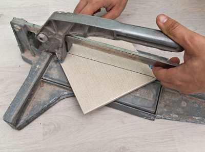 Резка керамической плитки – упрощаем работу правильным инструментом