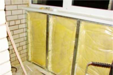 Как самостоятельно утеплить балкон?